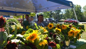 Blue Skys Farm at the Pawtuxet Village Farmer's Market | local food in Cranston, RI